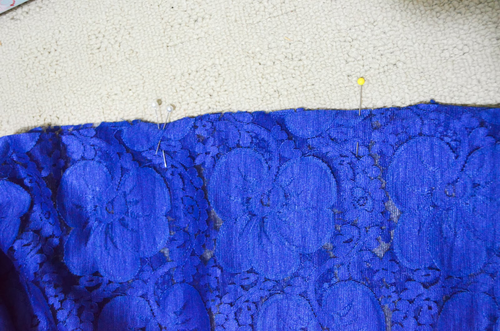 pin lace blue sew diy do it yourself