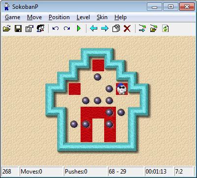 SokobanP Screenshot Image
