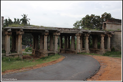 Stone entrance at Hampi