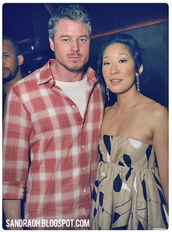 sandra oh eric dane marie claire party