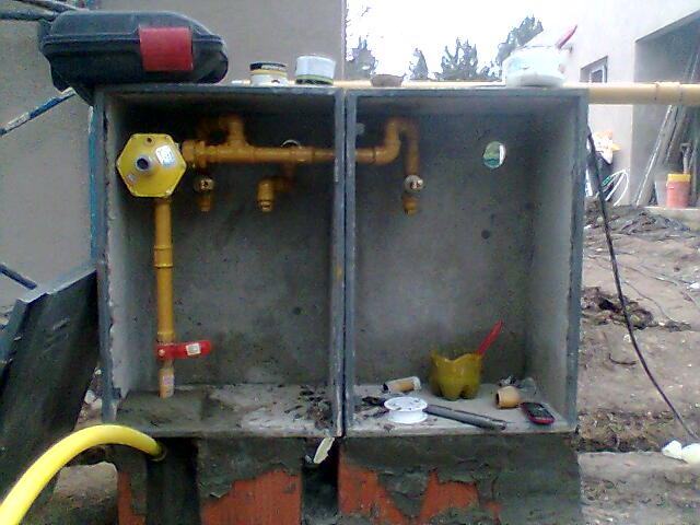 Rdr constructora instalaci n de gas dos departamentos - Instalacion calderas de gas ...