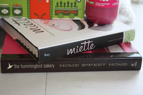 Miette Bakery Cookbook and Hummingbird Bakery Cookbook