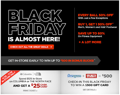 Click to view this Nov. 20, 2011 Sports Authority email full-sized