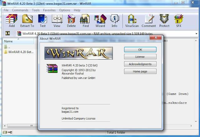 Winrar 4.20 Beta 3 Full Crack 2