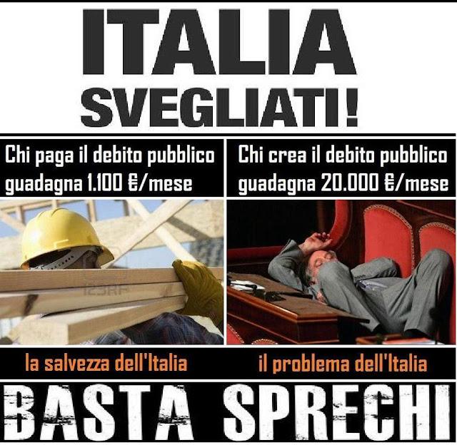 Quanti sono e quanto ci costano gli italiani che vivono di for I parlamentari italiani