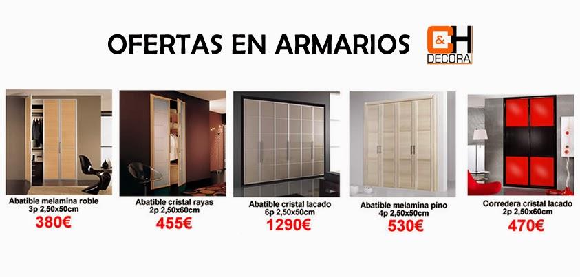 Ch decora puertas cocinas y armarios en madrid ofertas for Precios de armarios empotrados