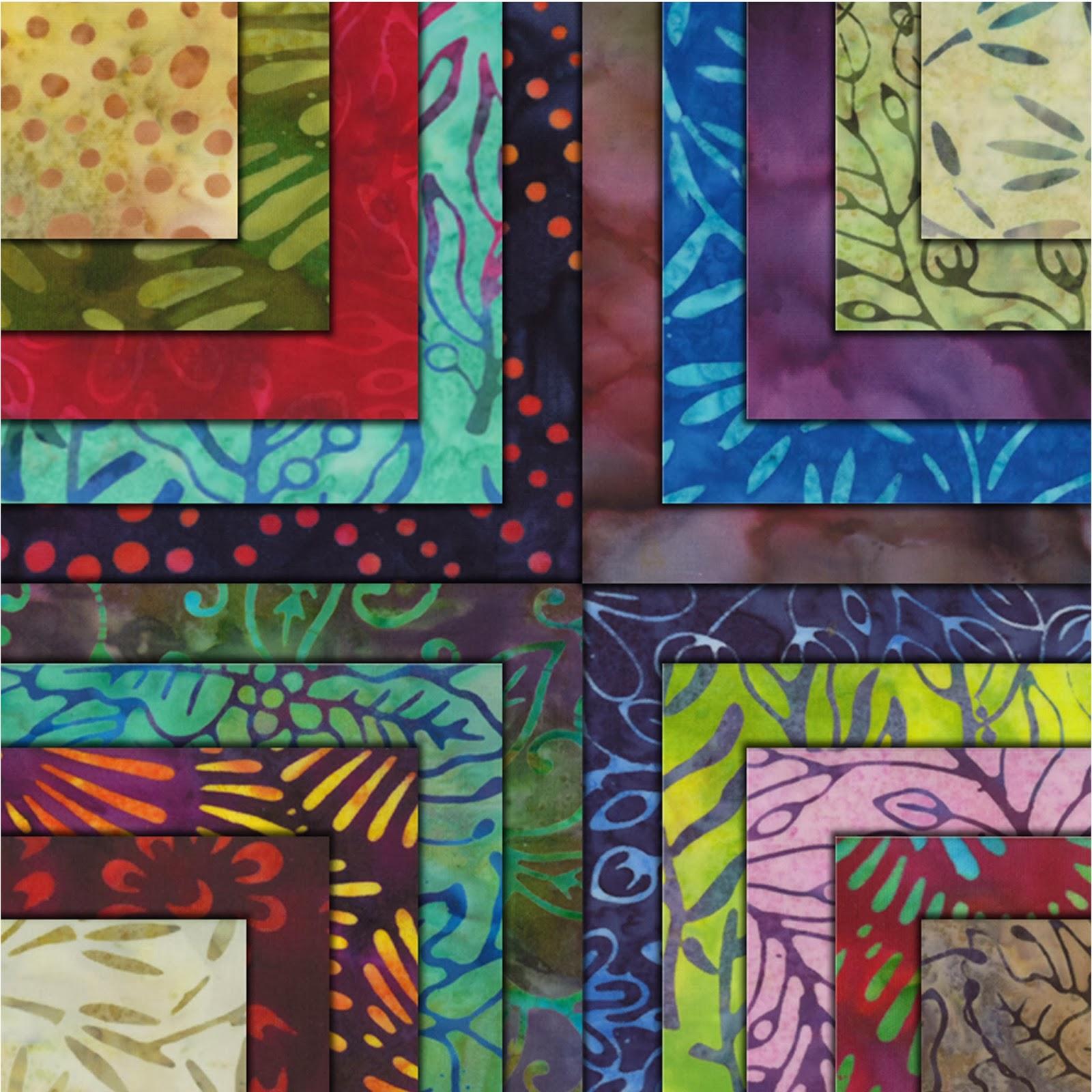 Moda XANADU BATIKS Quilt Fabric by Moda Fabrics