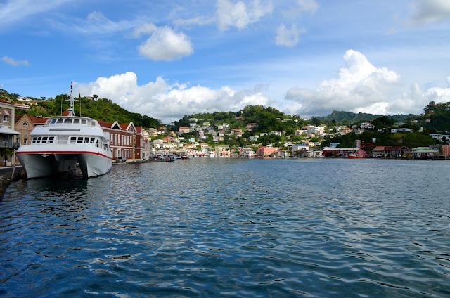 St George harbor - Grenada