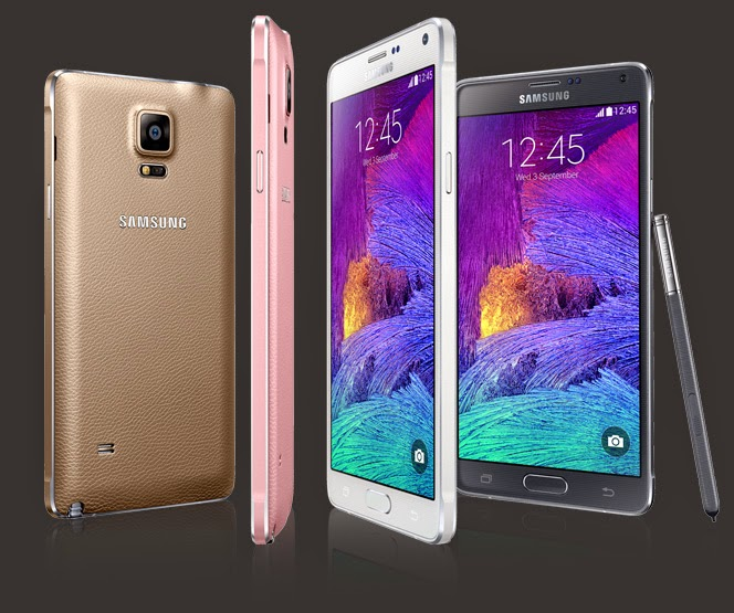 Samsung Galaxy Note 4-Now appears in a New Style