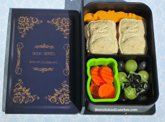 Bats Halloween Bento lunch