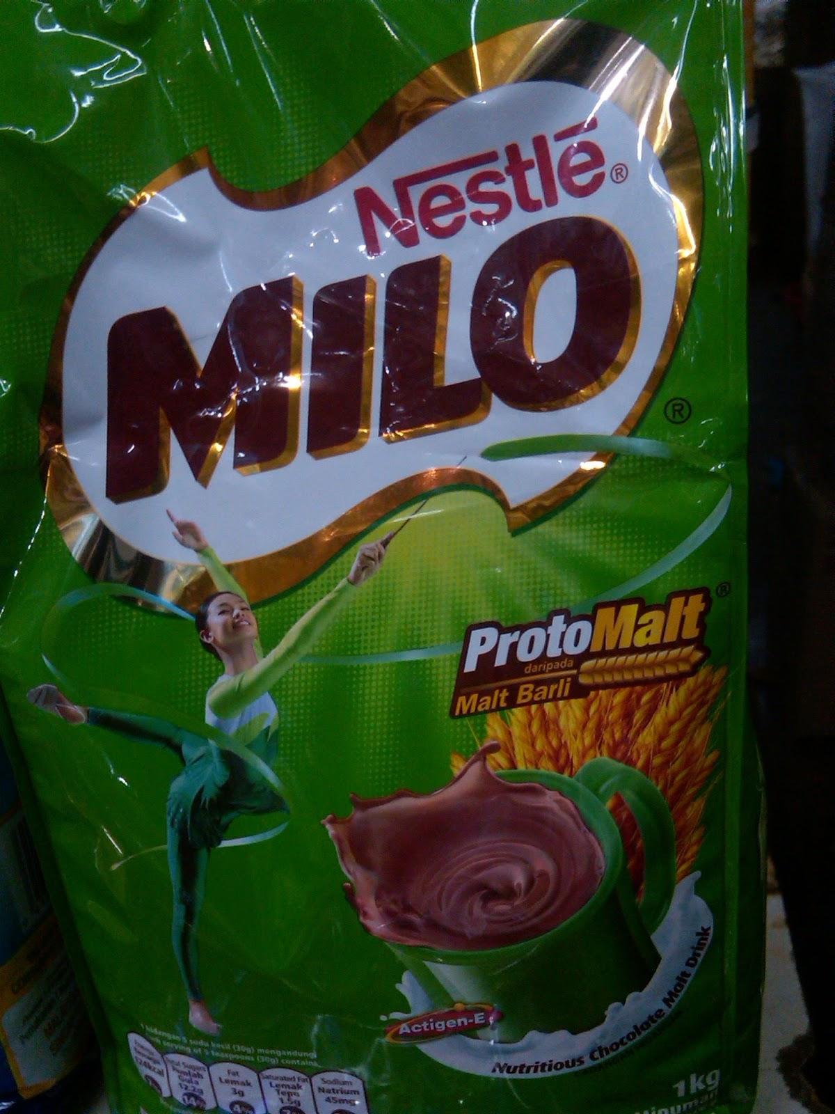 Toko Susu N Suplemen Nata Milo Kemasan Kaleng Malaysia
