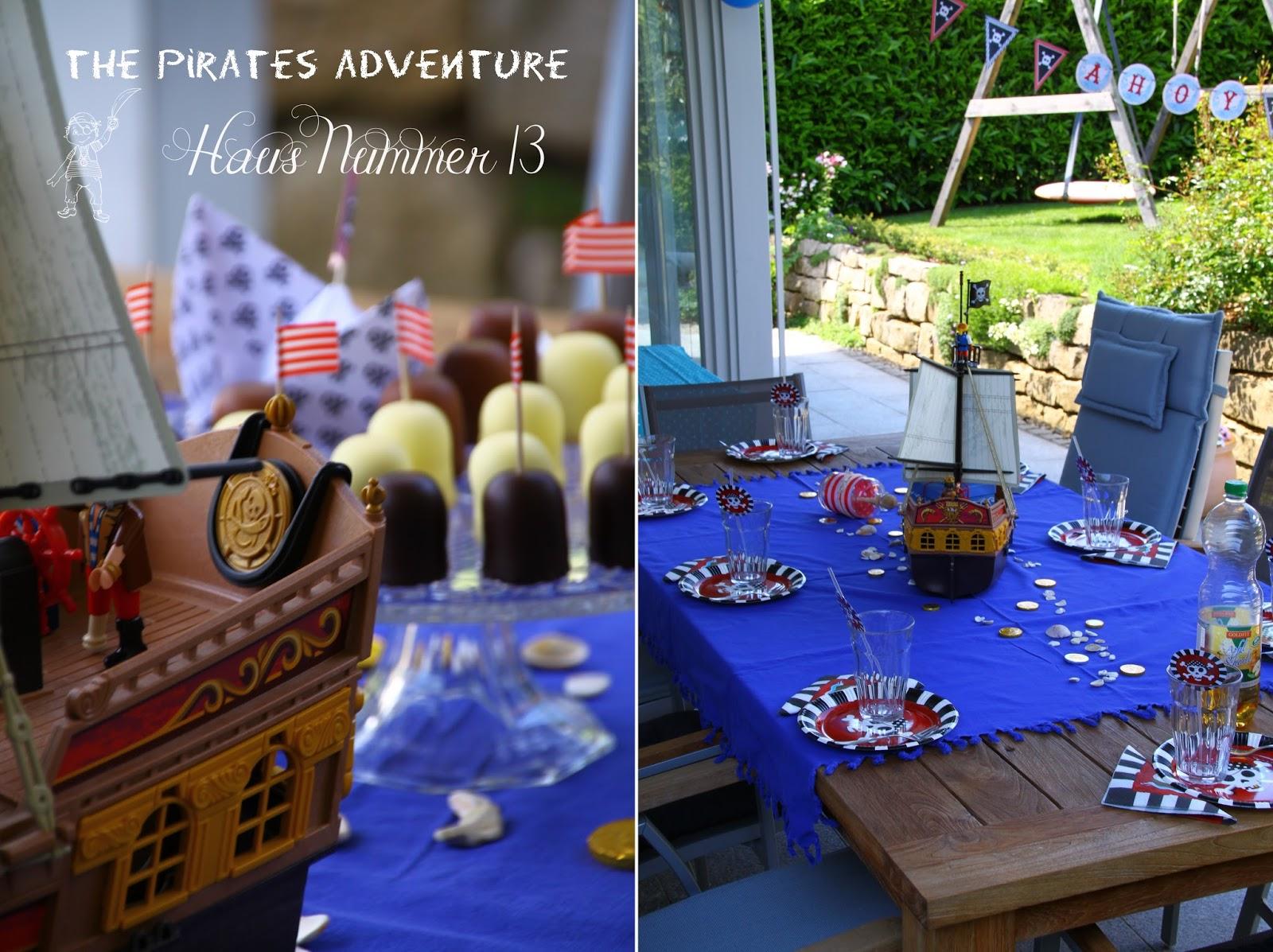 Piratenparty oder der 6. Geburtstag - Haus Nummer 13
