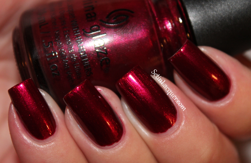 China Glaze - Red-y & Willing