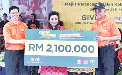World Hunger Relief 2011 - Istana Kehakiman, Putrajaya