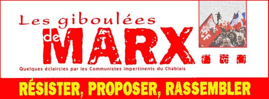 Les Giboulées de Marx, info et actualité