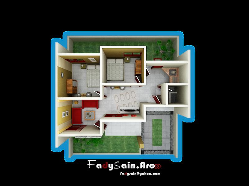 tampak 1 eksterior rumah tampak 2 eksterior rumah