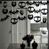 Découpage pour une guirlande d'Halloween