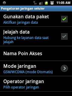 Cara Setting WiFi di Android