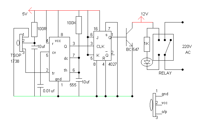ir receiver circuit