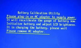 battery calibration utility