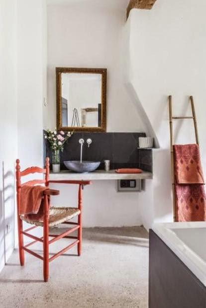 baño casa de campo