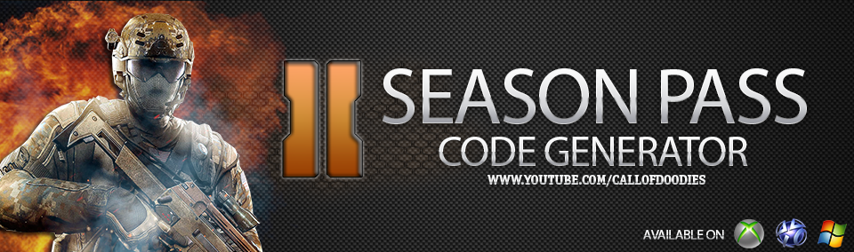Season Pass Code Generator