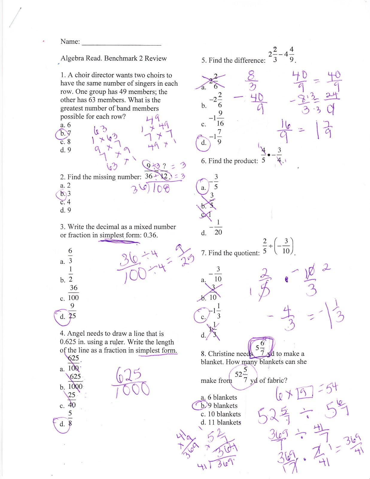 Worksheets Algebra Readiness Worksheets lovely algebra one practice photos worksheet mathematics ideas ms jeans classroom blog readiness benchmark
