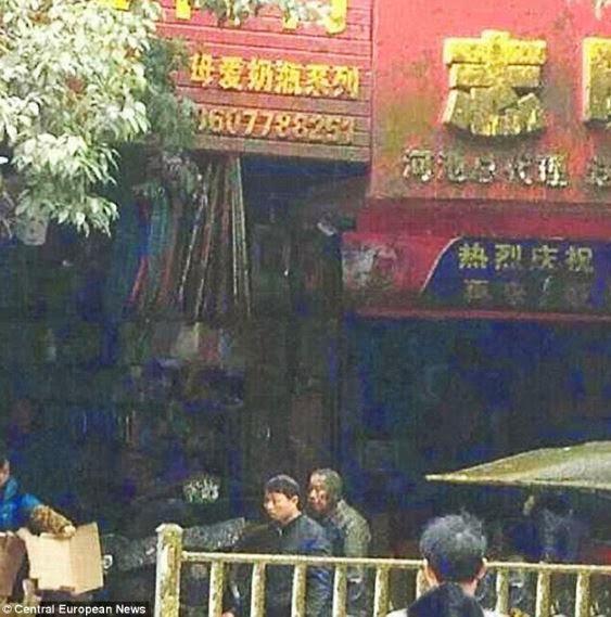 china poop