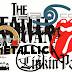 Logo de bandas de rock vetorizas para download grátis