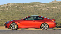 The new BMW M6 Coupe side