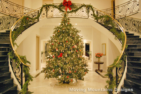 Amy 39 s daily dose beautiful christmas trees House beautiful christmas trees