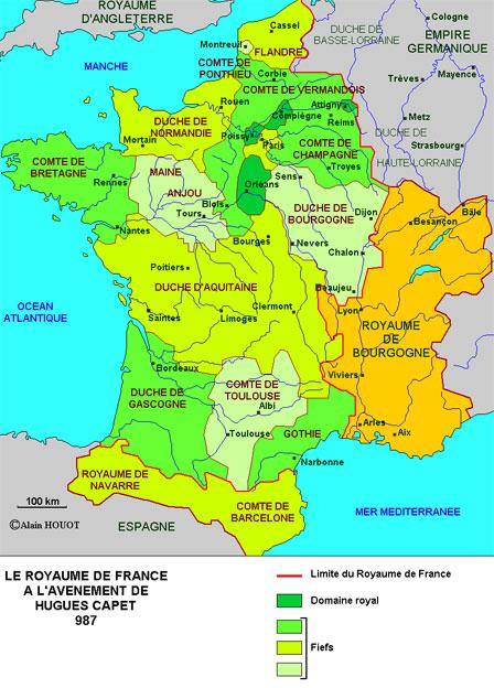 Ciri-ciri negara Kesatuan dan struktur negara kesatuan di Perancis