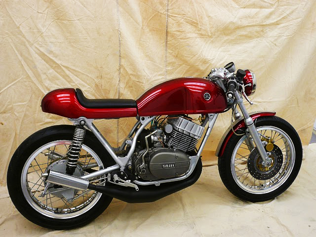 Yamaha rd350 scarlet firefly