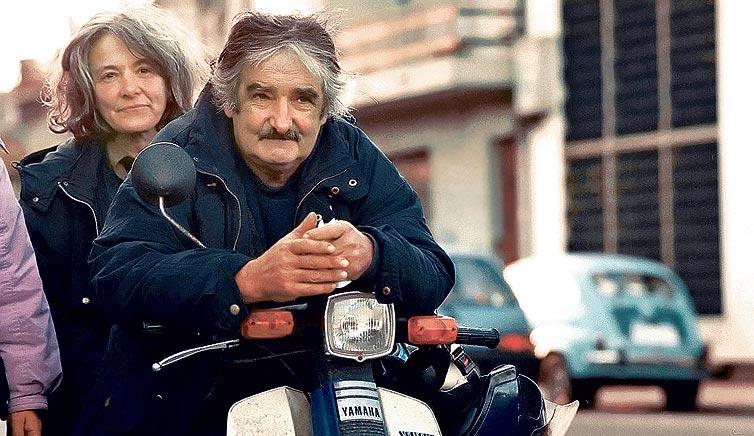 Jose Mujica ja Lucia Topolansky