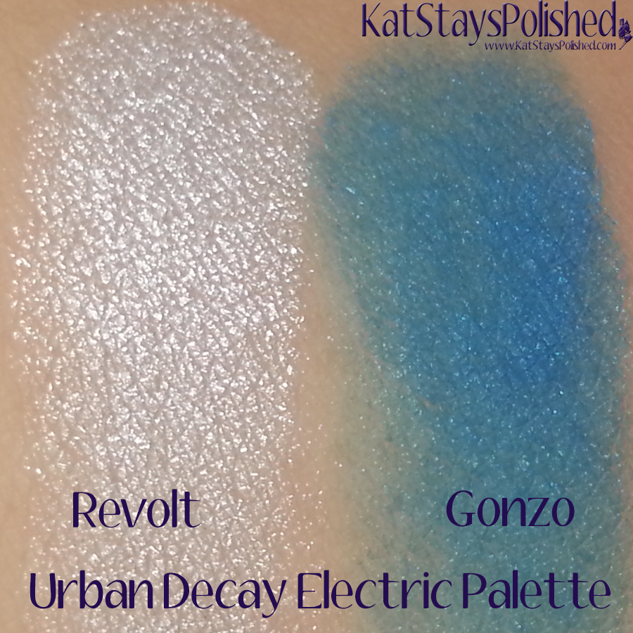 Urban Decay Electric Palette - Revolt and Gonzo | Kat Stays Polished
