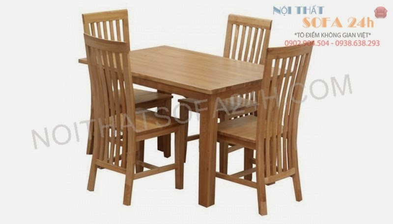 Bàn ghế ăn 018