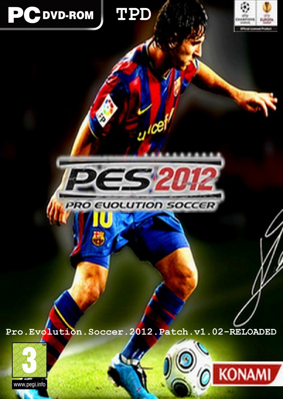 pro evolution soccer 2012 english patch
