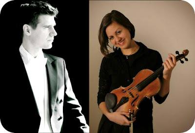 dirijorul Vinzenz Weissenburger si violonista Anite Stroh