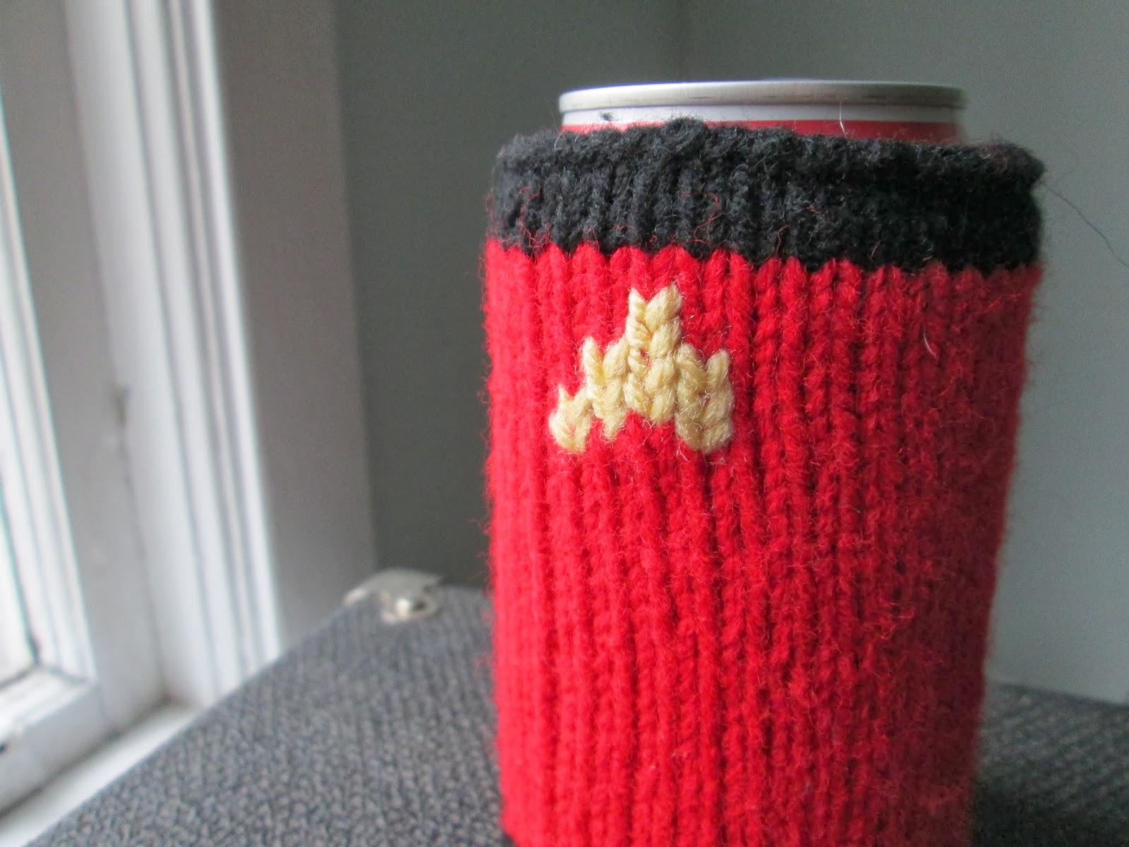 Not Your Grandmother`s Knitting: Star Trek Drink Cozy