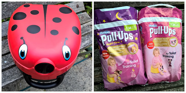 A Day Out While Potty Training with Huggies® Pull Ups Ladybird My Carry Potty