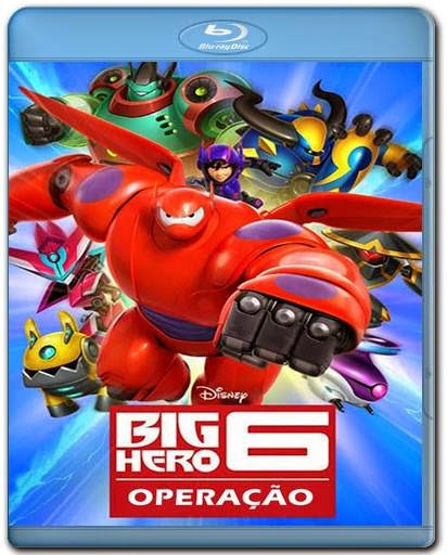 Download Operação Big Hero AVI BDRip Dual Áudio + Bluray 720p e 1080p Torrent
