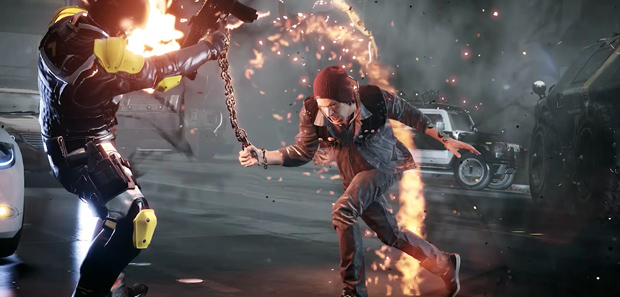 inFamous Second Son Creating Seattle The New Engine