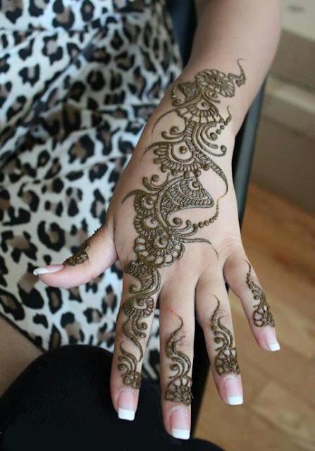 Mehndi Designs Tikka : Mehndi latest designs