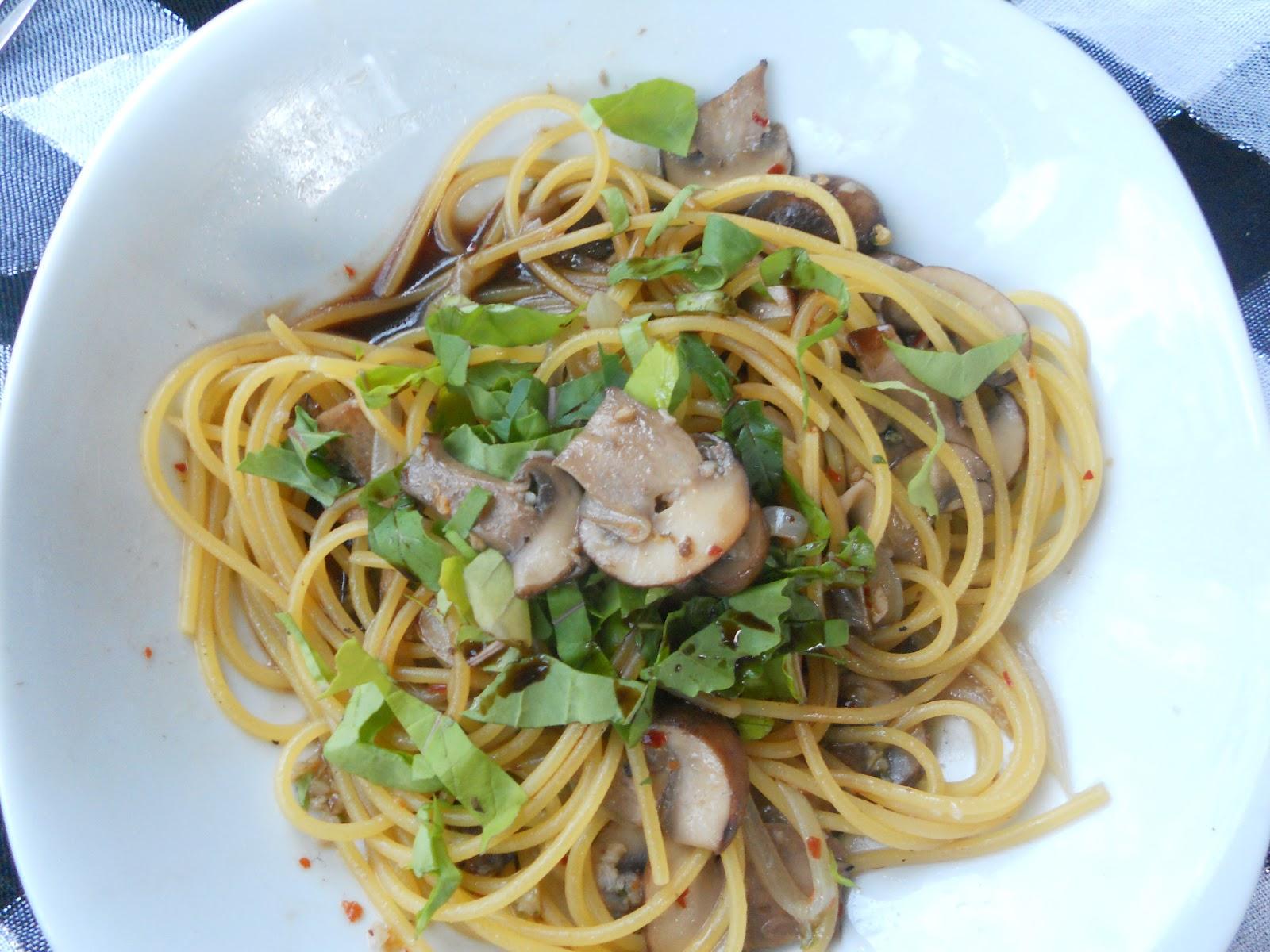 Recipes Denn: Mushroom Pasta