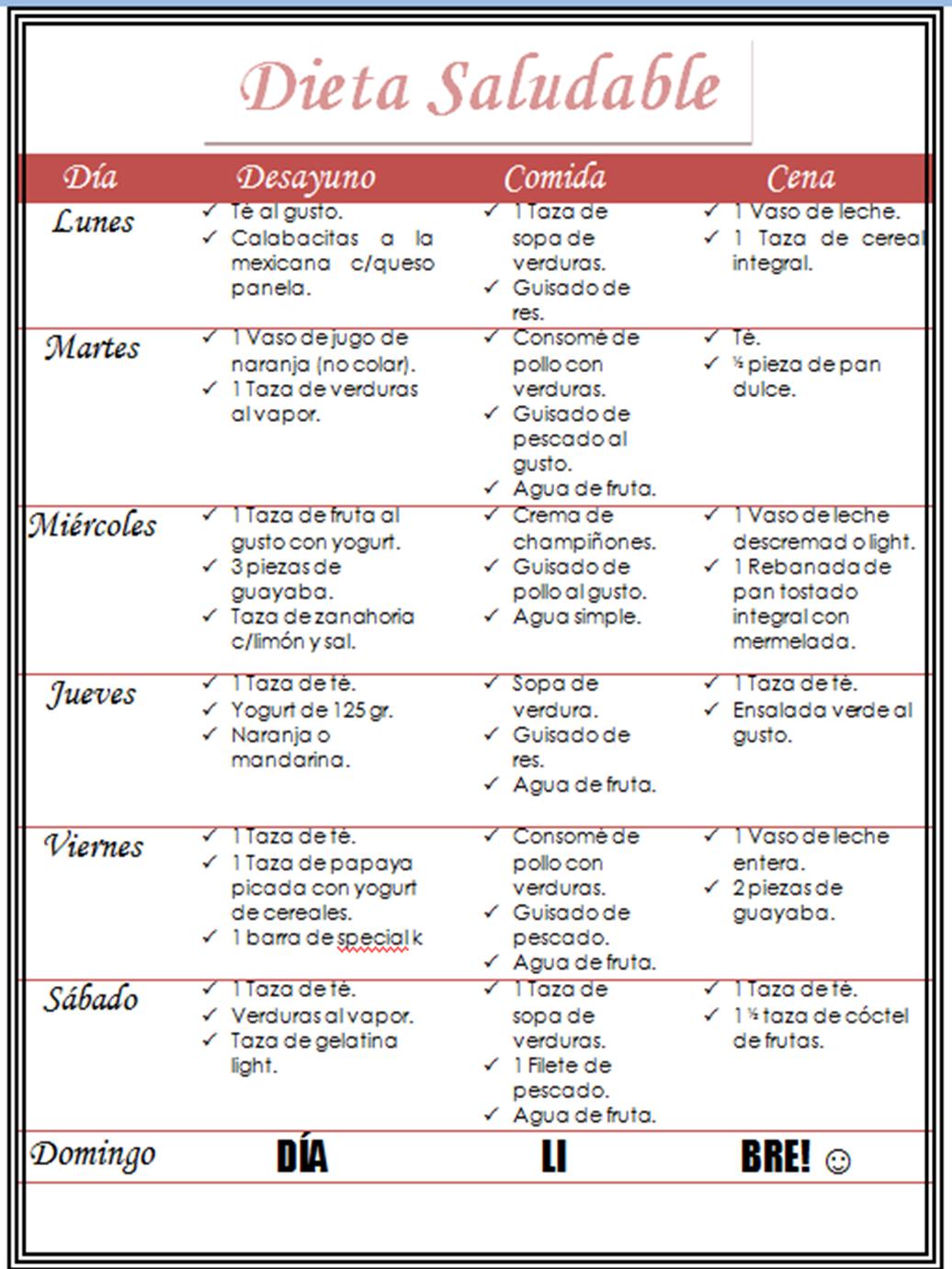 Dieta ideal para adolescentes - Dieta y Nutricin
