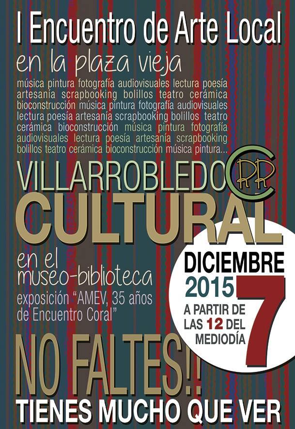 I Encuentro de Arte Local en Villarrobledo!