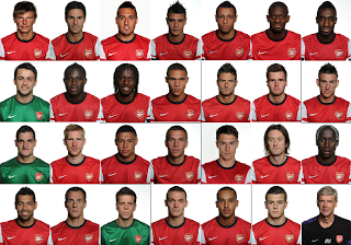 Daftar Nama 24 Pemain Inti Arsenal Vs Indonesia Dream Team 14 April 2013