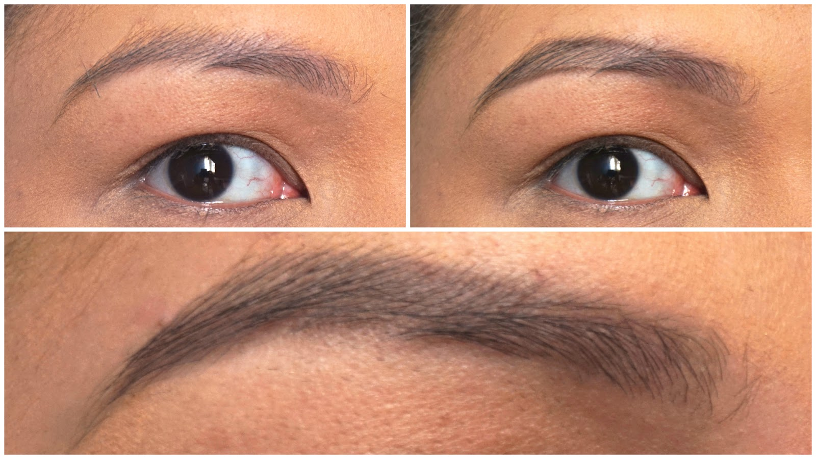 Tony Moly 7 Days Tatoo Eyebrow Review In 02 Dark Brown Swatch