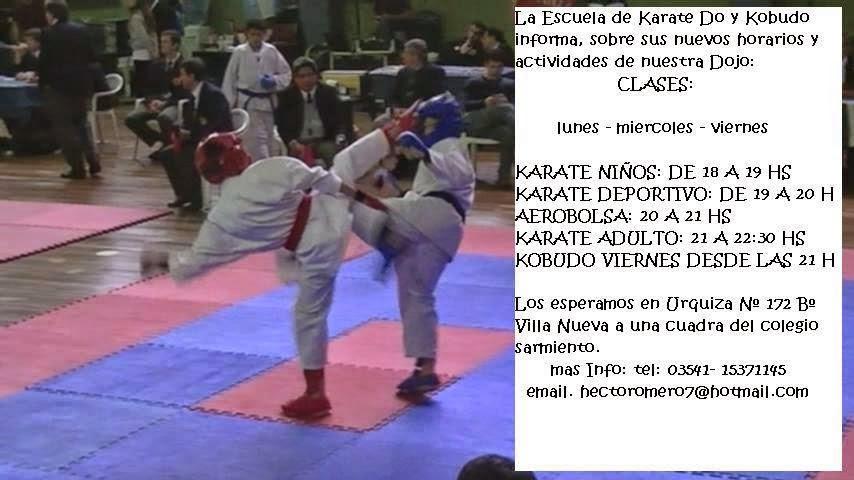 Escuela de Karate - Héctor Romero