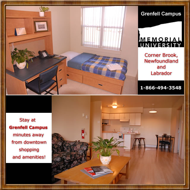 Corner Brook (NL) Canada  city pictures gallery : ... Canada blog: Grenfell Campus, Memorial University, Corner Brook